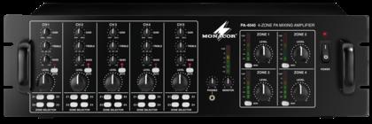 Amplificadores mezcladores de zona