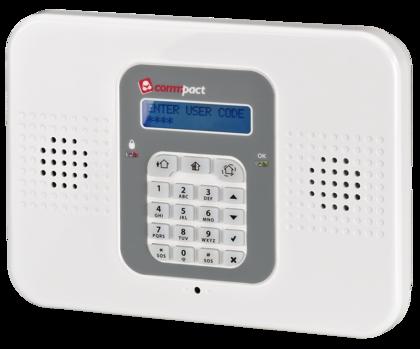 Sistema de alarma inalámbrico COMMPACT