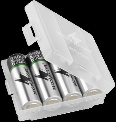 Baterías recargables y baterías