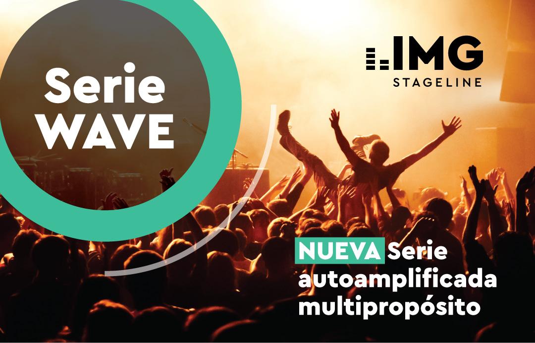 WAVE, la nueva serie de cajas activas de IMG Stageline